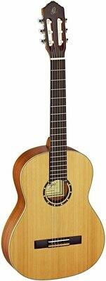 Ortega R131 Full Size Classical Guitar - Solid Cedar Top, Satin Finish