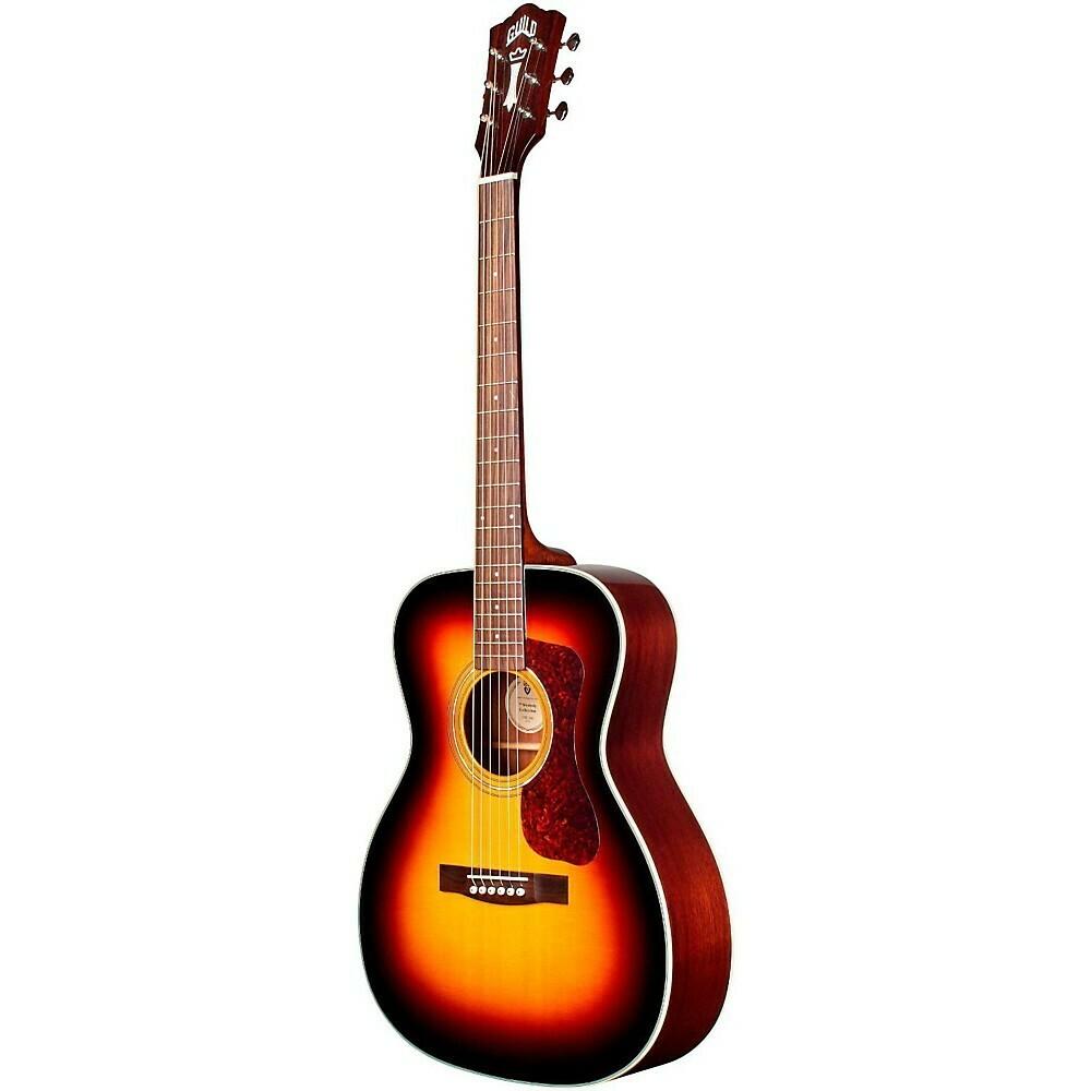 Guild OM-140 Sunburst Acoustic Guitar