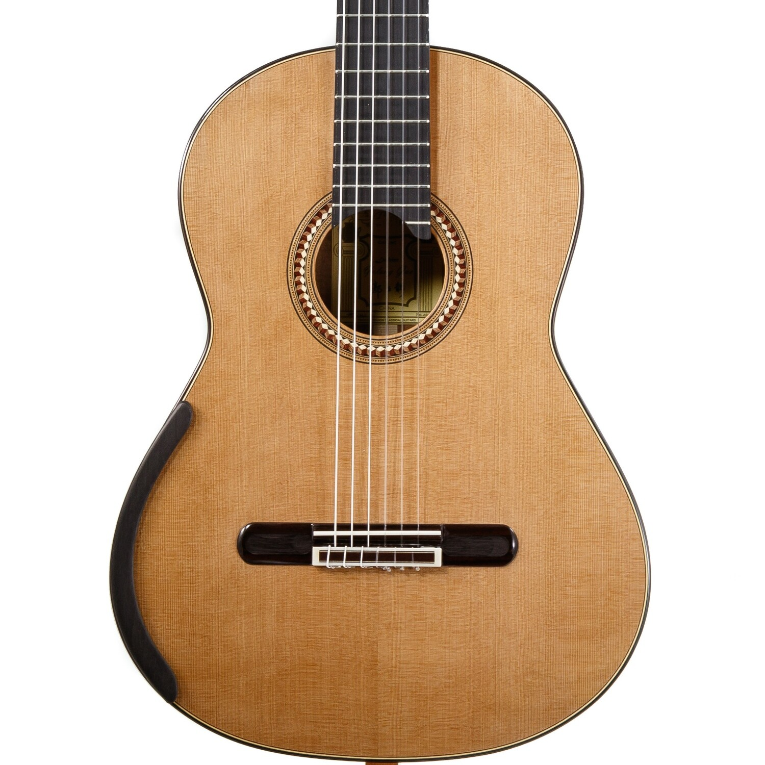 Yulong Guo Concert Model - Cedar Double Top, solid Koa Back/Sides - 650mm Scale Length - 2020-004