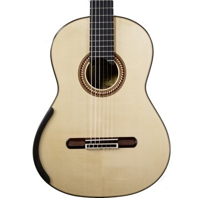 Yulong Guo Concert Model - Spruce Double Top, solid Koa Back/Sides - 650mm Scale Length