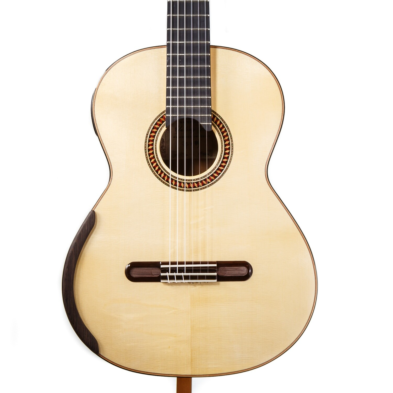 Chamber Concert by Yulong Guo - Spruce Double Top, Pau Ferro Back/Sides - 640mm Scale Length - Serial # 19-006