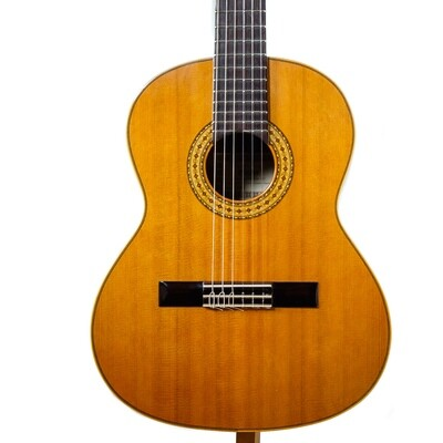 Estevé Requinto/Alto Guitar - 6.004 Solid Cedar top, Sapelly back/sides - Handmade in Valencia, Spain