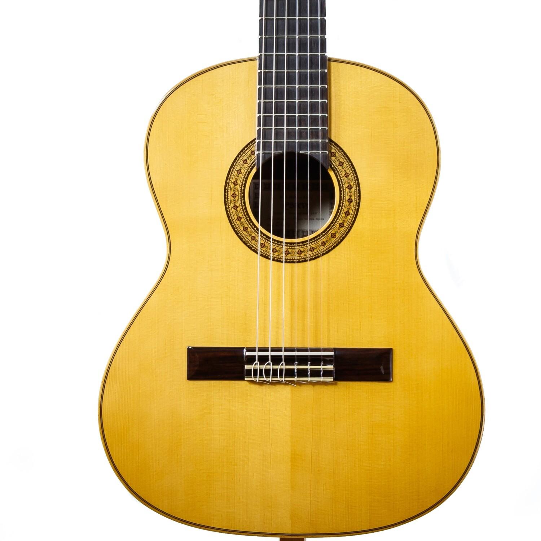 Estevé Requinto/Alto Guitar - 6.004 Solid Spruce top, Sapelly back/sides - Handmade in Valencia, Spain