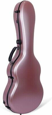 Crossrock CRF4000CRG - Flight Case - Full size Classical Guitar - Rose Gold - Antiscratch Polycarbon