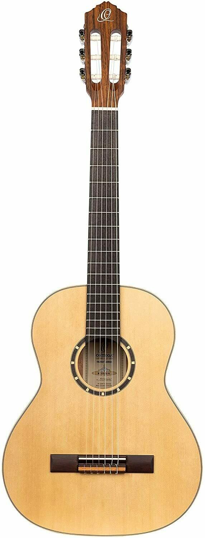 Ortega R121L ¾ Size - Left Handed, Spruce top, Mahogany back/sides with Deluxe Gig Bag