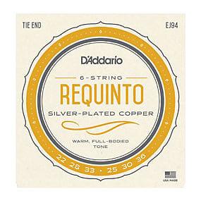 D'Addario EJ94, Requinto Silver-Plated Copper