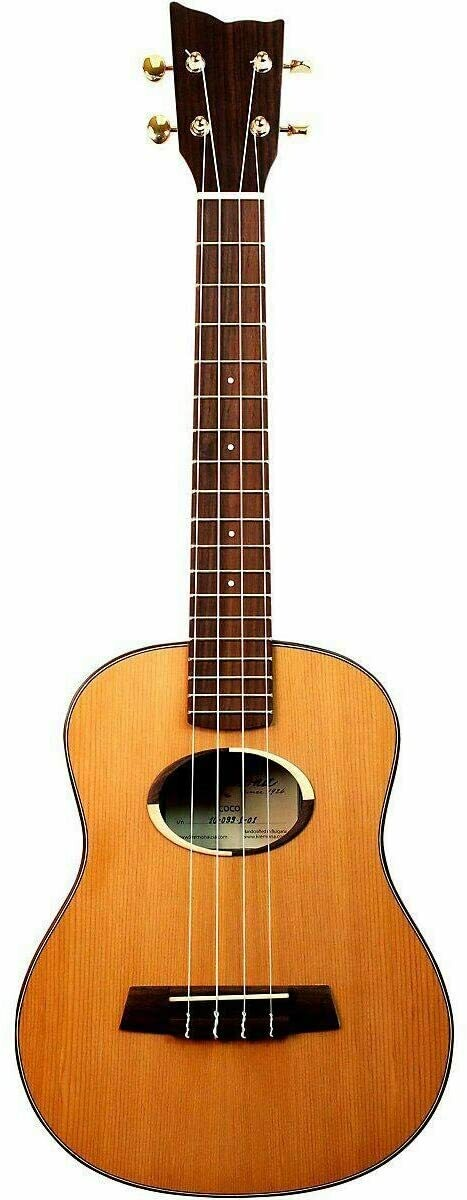 Kremona Coco Tenor Ukulele - All Solid Wood with Deluxe Hardshell Case