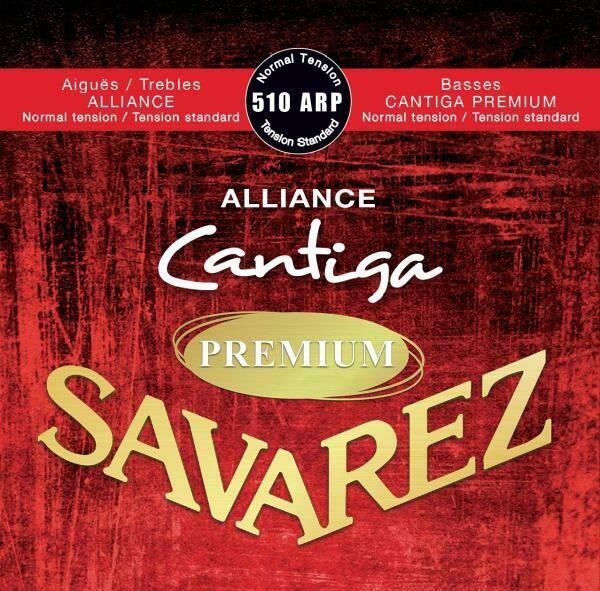 Savarez 510ARP - Cantiga Premium Basses, Alliance Trebles - Normal Tension