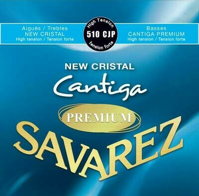 Savarez 510 CJP - Cantiga Premium Basses, New Cristal Trebles