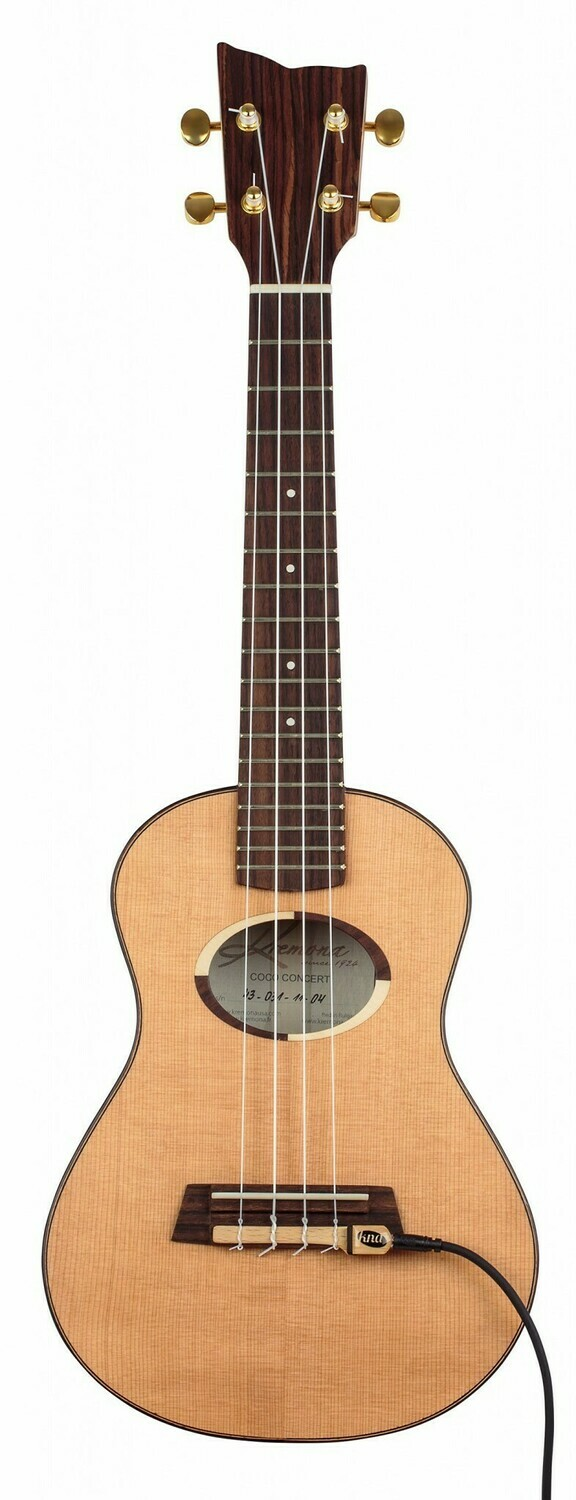 Kremona Coco Concert Ukulele - All Solid Wood with Deluxe Hardshell Case