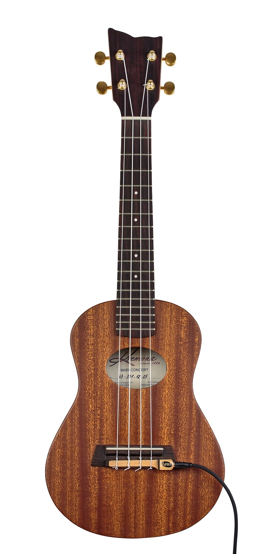 Kremona Mari Concert Ukulele - All Solid Wood - Includes Kremona Deluxe Hardshell Case