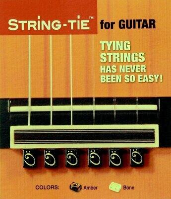 String Ties - Ebony, Bone White, or Amber