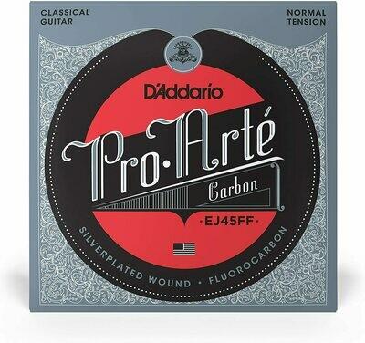 D'Addario EJ45FF Pro-Arte Nylon Classical Guitar Strings, Normal Tension