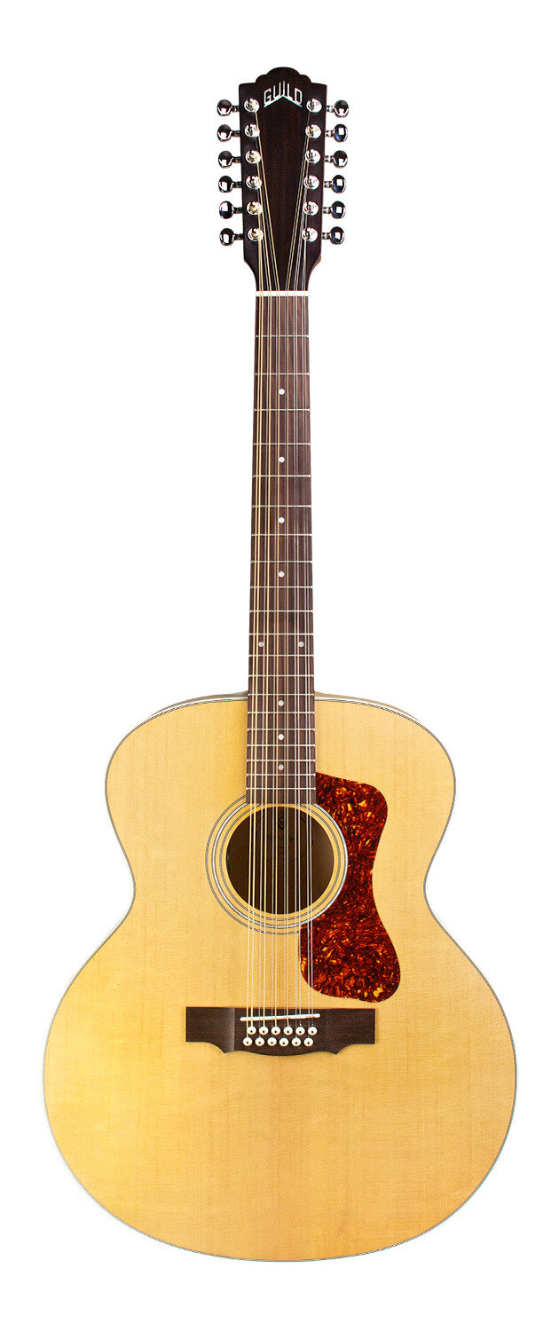 Guild F-2512E - Maple Satin Finish - 12 String Acoustic Electric Guitar