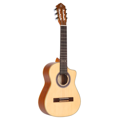 Ortega Requinto Series - RQ25 - Acoustic Requinto Guitar - Spruce Top