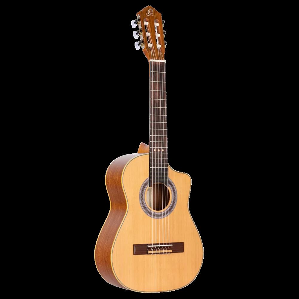 Ortega Requinto Series - RQC25 - Acoustic Requinto Guitar - Cedar Top
