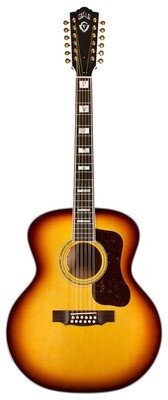 Guild F-512E Maple ATB - Jumbo 12 String Acoustic Electric - Made in the USA