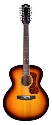 Guild F-2512E - Deluxe Maple - 12 String Acoustic Electric, Antique Burst