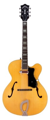 Guild A-150 Savoy - Blonde - Flame Maple - Carved Solid Arched top with Hollow Body