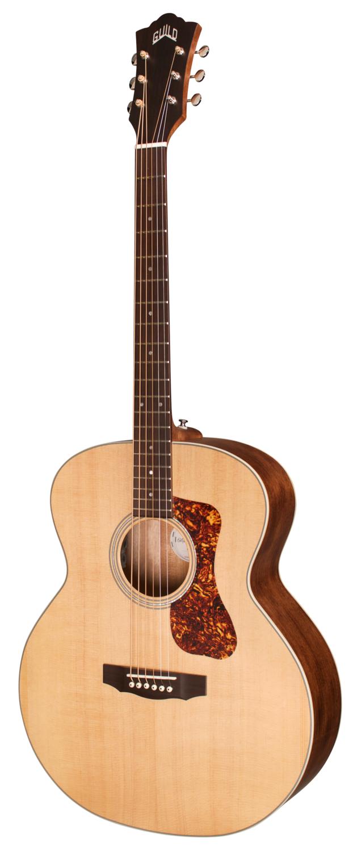 Guild BT-240E Baritone Acoustic Electric Guitar - Natural