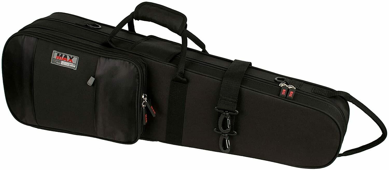 Protec MX044 4/4 Violin Shaped MAX Case, Black