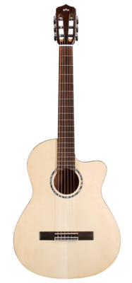 Cordoba Fusion 5 - Solid Spruce top, Mahogany back/sides - Nylon String Acoustic Electric