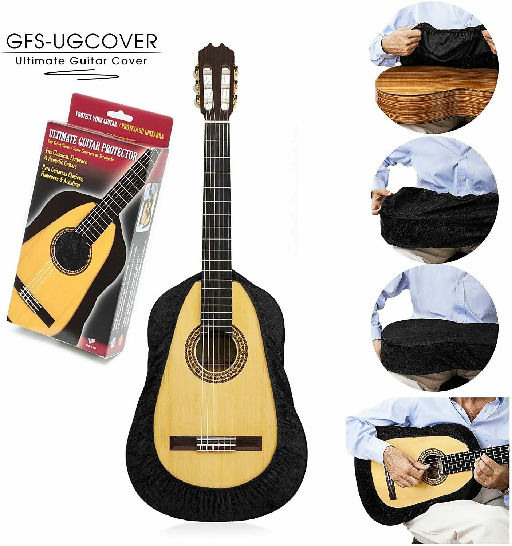 Ultimate Guitar Cover, Guitar Protector, Guitar Gig Bag - Black