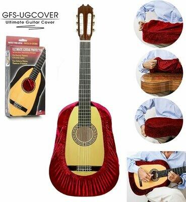 Ultimate Guitar Cover, Guitar Protector, Guitar Gig Bag - Red Velvet