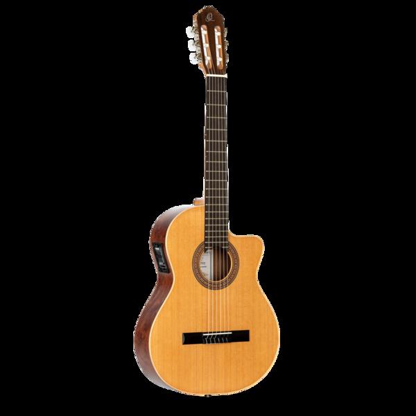 Ortega RCE180-LTD - Acoustic Electric Cutaway Classical Guitar - Made in Spain