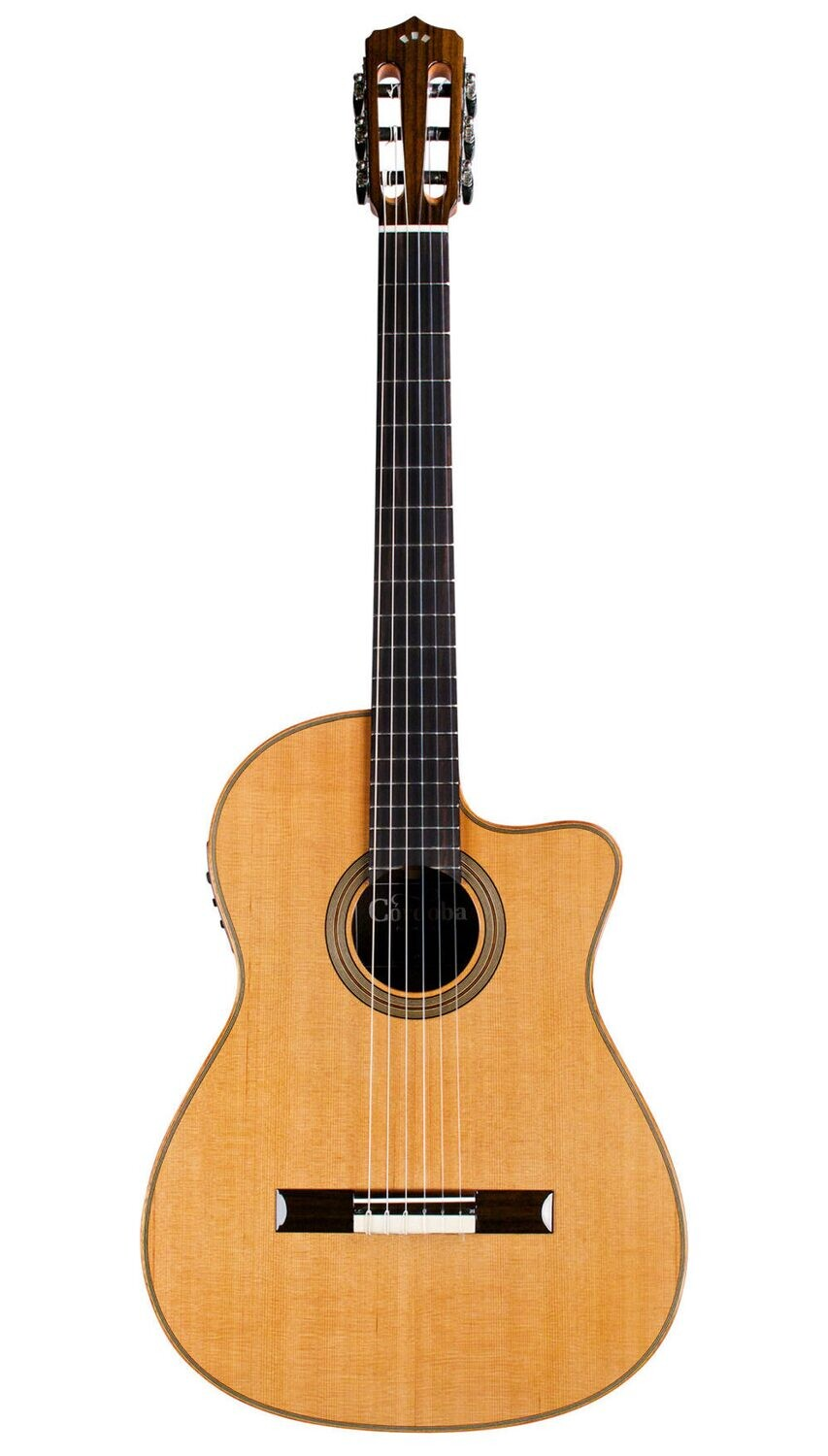 Cordoba Fusion Orchestra CE - Solid Cedar Top - Acoustic Electric Nylon String Classical Guitar