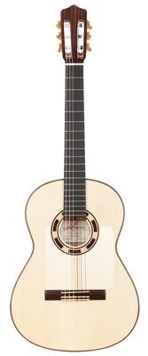 Kremona Rosa Blanca - All solid wood Flamenco Guitar - European Spruce top, Cypress back/sides - Includes Kremona Hardshell Case