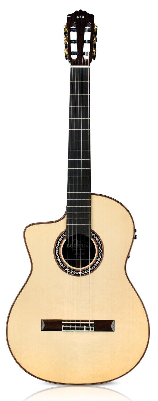 Cordoba GK Pro Negra Lefty - Gipsy Kings Signature - Professional Acoustic Electric Flamenco Guitar