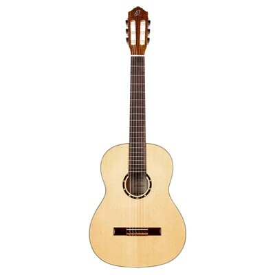 Limited Time Student Special - Ortega R121G with Deluxe Gig Bag and Accessories - Quality beginner Classical Guitar + Bundle