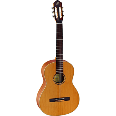 Limited Time Student Special - Ortega R122 with Deluxe Gig Bag  - Quality beginner Classical Guitar + Build Your Own Bundle with optional accessories