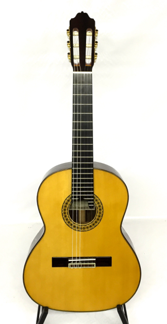 Estevé Requinto 6.008 - Solid Cedar Top, Solid Indian Rosewood Back/Sides - Handcrafted in Valencia, Spain