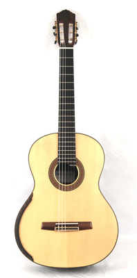 Calido Soloist DT - Spruce Double Top Classical Guitar, Lattice Braced, All Solid Wood, Indian Rosewood Back/Sides, Ebony Fretboard - 640mm Scale Length