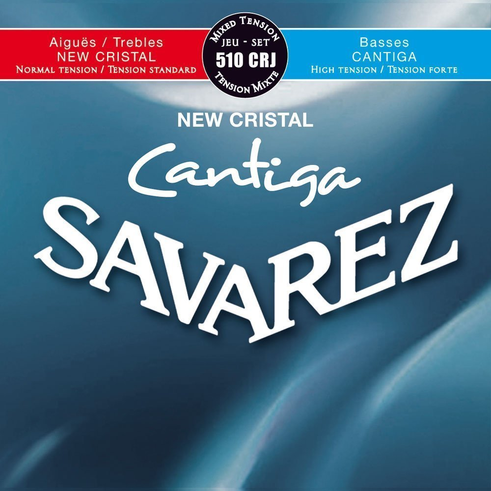 Savarez 510 CRJ New Cristal Cantiga - Normal Tension Trebles / Hard Tension Basses