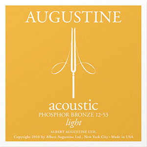 Augustine Acoustic Phosphor Bronze, Light