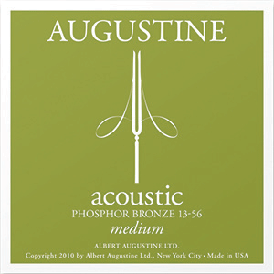 Augustine Acoustic Phosphor Bronze, Medium