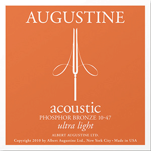 Augustine Acoustic Phosphor Bronze, Ultra Light