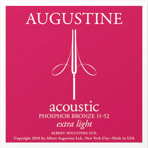 Augustine Acoustic Phosphor Bronze, Extra Light