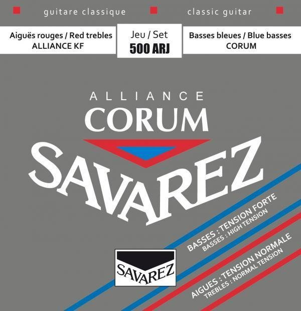 Savarez 500ARJ Corum Alliance, High Tension Classical Guitar Strings