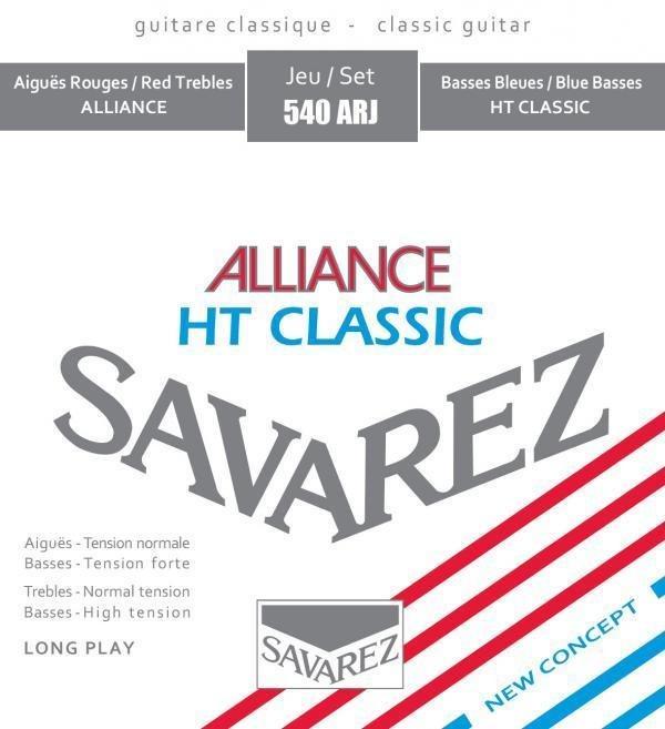 Savarez 540ARJ Classical,  Normal KF Alliance Trebles/High Tension Classic Basses
