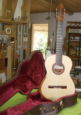 Jorge Rafael-Nascimento - Custom Classical Guitar Koa - Spruce - All Solid Wood - Handmade in Brazil