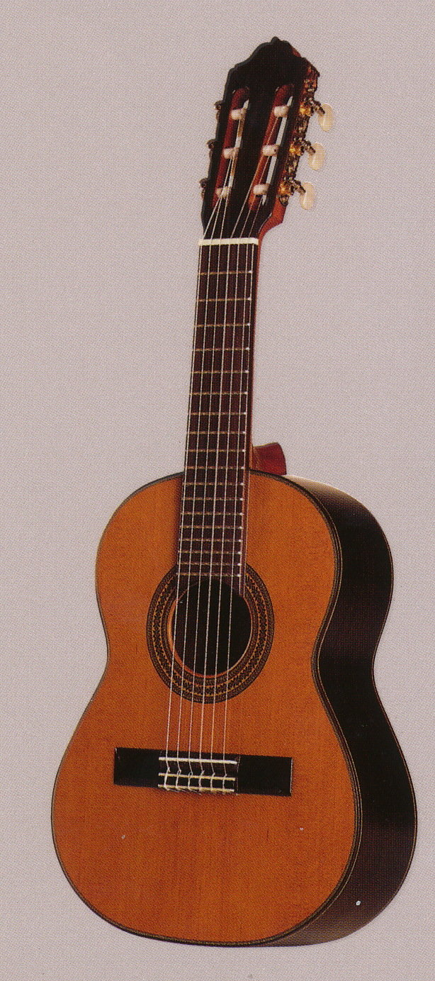 Guitarras Estevé Octave Guitar (Soprano) - Solid Cedar Top - Solid Indian Rosewood back/sides - Handcrafted in Valencia, Spain