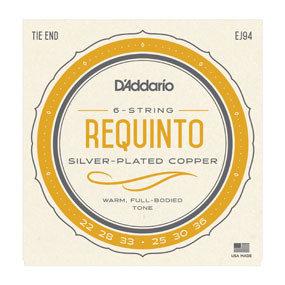 D'Addario Requinto Silver-Plated Copper