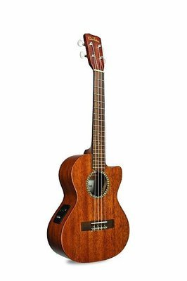 Cordoba 20TM-CE Tenor Cutaway Acoustic Electric Ukulele, Solid Mahogany top, Mahogany Back/Sides