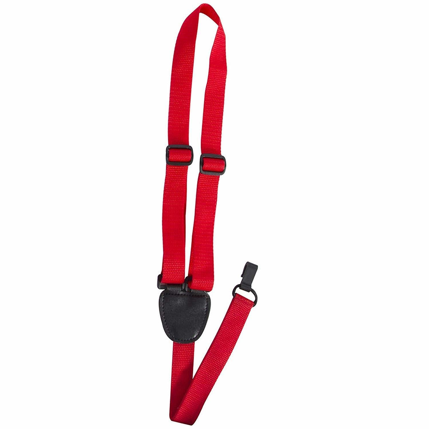 Ukulele Strap, Red On-Stage GSA70R