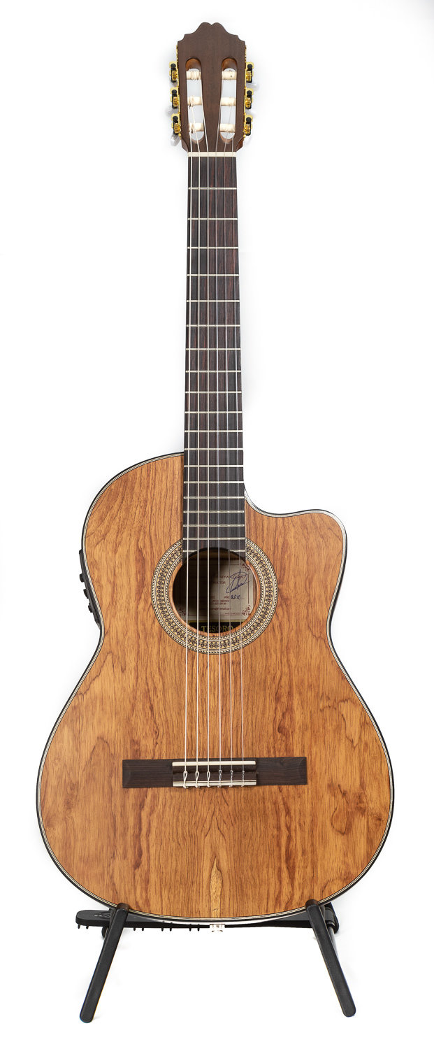 Navarro Tesoro Acoustic Electric Limited Edition - All Solid wood - Handmade by Francisco Navarro, Jr. - All Solid Palo Escrito Rosewood - Top/Back/Sides