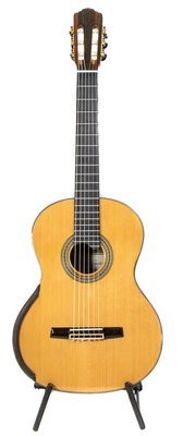 Calido Soloist - All Solid Wood - Cedar Top, Bubinga (African Rosewood) Back/Sides - Advanced Classical Guitar